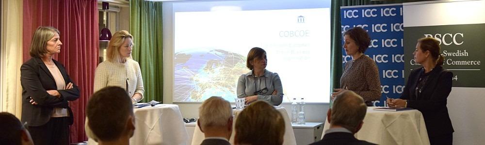 ICC, BSCC, COBCOE, Näringsdepartementet och Kommerskollegium på Brexit-seminarium
